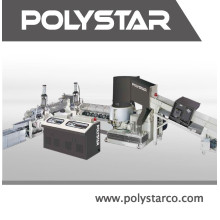 Reciclador de plástico de residuos de PE de doble etapa