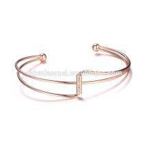 Les bracelets de bracelets d'or de la fausse 18k 24k d'OEM d'usine professionnelle d'approvisionnement de mode