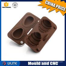 Moldagem de injeção de plástico personalizado para modelo de chocolate modelo de plástico e alertor