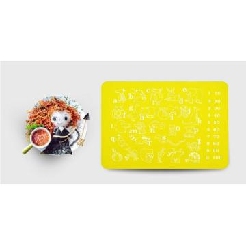 Dining Mat Silicone Placemat For Kids