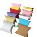 kraft paper Pillow packaging Gift Boxes pillow box
