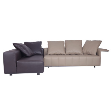 Minotti Freeman Modular Leather Sofa