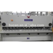 Cizalla guillotina hidráulica qc11y-6x5000, cizalla guillotina nc, cizalla guillotina de metal