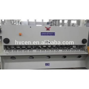 Qc11y-25 * 3200 hydraulische Guillotine Schere 25mm / Platten hydraulische Guillotine Schere Maschine / Metall Guillotine Schere Maschine