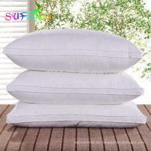 Almohada de microfibra / Cama de hotel comprimida Uso de almohada de hotel de microfibra