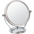 Beidseitig Metall Chrom-Make-up-Spiegel