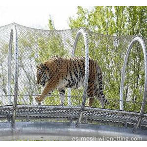 Cuerda de cable de acero inoxidable Zoo Animals Mesh