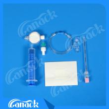 Ce и одобренный ISO медицинский анестезиологический эпидуральный комплект