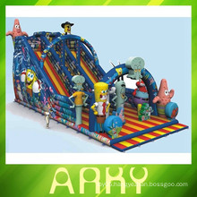 Happy children bouncy inflatable castle jumping castle inflatable bouncer