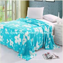 2013 Flower Design Flannel Fleecedecke