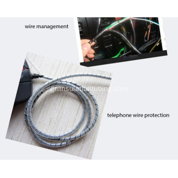 High Quality PE Wire Spiral Cable Wrap Tube