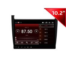 Fábrica de Yessun Navegación del GPS del coche de 10.2 pulgadas para el polo de Volkswaaen (HD1024)