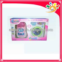 Elektrische Waschmaschine Spielzeug, batteriebetriebene Wäsche mit Musik Licht