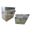 (L / R) Aluminium Echelon Unterboden-Werkzeugkasten für LKW (L / R) Aluminium Echelon Unterboden-Werkzeugkasten für LKW