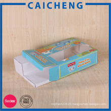 Toys paper cardboard packaging box with window dispaly box