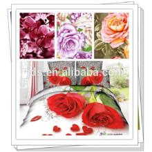 Tissu imprimé personnalisé en polyester bon marché