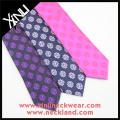 Embroidered Custom Silk Tie