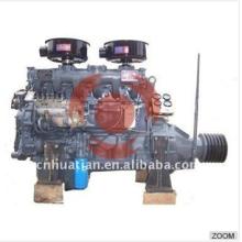 Motor diesel 60kw / 81.6hp con la polea R6105P de la correa del embrague