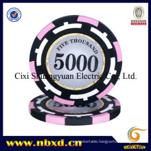 14G 3-Tone Clay Sticker Poker Chip with Customize Stickers (SY-E18)