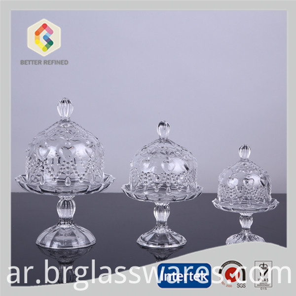 Wedding Cake Stand With Glass Dome
