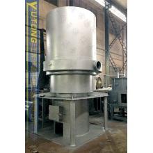 Uso do forno de ar quente em fosfato de ureia