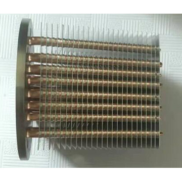 CPU के लिए Sintered Copper हीट पाइप हीट सिंक