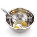Saladeira Anti-skid com fundo de silicone, tigela