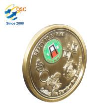 Chine Fournisseurs Low MOQ Bon Prix Laiton Militaire Metal Challenge Coin