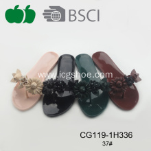 Ladies High Fashion Thong Slipper