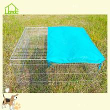 Cage à lapin en fil de fer barbelé facile à utiliser