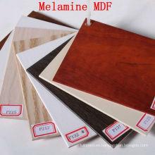 Colorido MDF con laminado de melamina