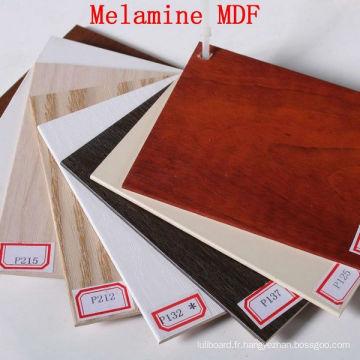 MDF de mélamine de haute qualité