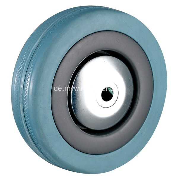 4 '' Bolt Hole Swivel Grey Rubber Caster