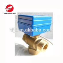 CWX-1.0 mini-vanne à boisseau sphérique 20mm 2NM 1 bar