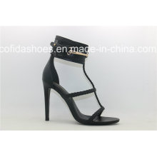 Sexy High Heels Unique Designs Leather Women Shoes