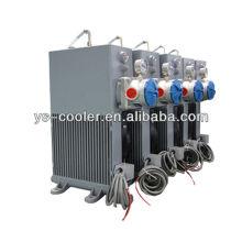12v / 24v DC охладитель масла с вентилятором для бетононасоса