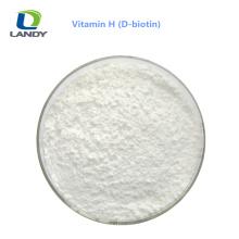 China Fabricante Qualidade Confiável de Qualidade Médica Vitamina H D-Biotina