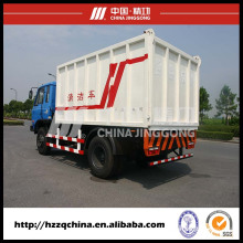 Caminhão de lixo, recipiente de descarte de lixo
