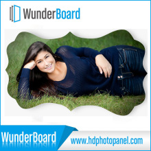 Besting Selling of HD Aluminum Photo Panel for Art Works Creative Border
