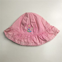 Flickor Sweet Pink Broderi Floppy Hat