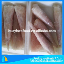 skinless and EU treated frozen fresh monkfish tail