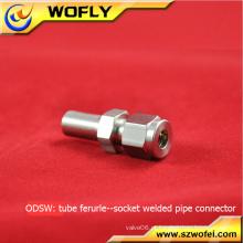 Pressão de trabalho média 500psi soldadura de gás de compressão em encaixes de encaixe de tubo