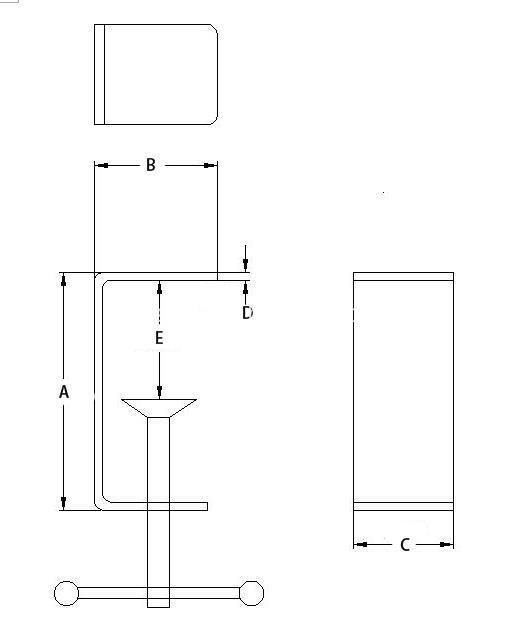 Aluminum Tablet Holder Draft