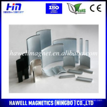 High Quality Neodymium Segment Rare Earth Magnet for Motor
