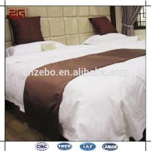 Lenço cama de alta qualidade Hotel, corredor de cama, conjunto de roupa de cama