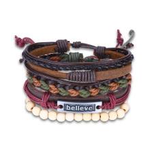 Western Punk Style Vintage Handmade Bracelet Sets of Bracelets