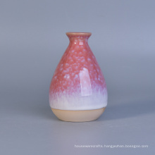 Glazing Ceramic Aroma Reed Diffuser Bottles for Fragrance