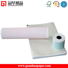 210mm 216mm Width Six Channel Medical ECG Paper