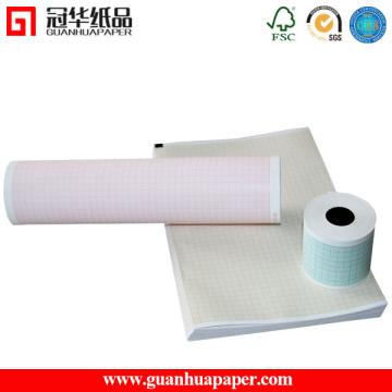 50mm 63mm 210mm Largeur Thermique ECG Medical Paper