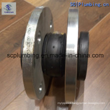 High Seal NBR Flanged Connection Flexible Rubber Expansion Joint